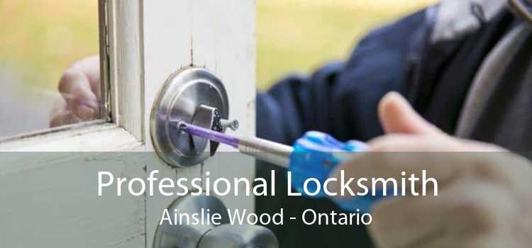 Professional Locksmith Ainslie Wood - Ontario