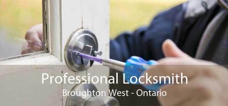 Professional Locksmith Broughton West - Ontario