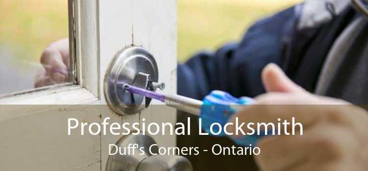 Professional Locksmith Duff's Corners - Ontario