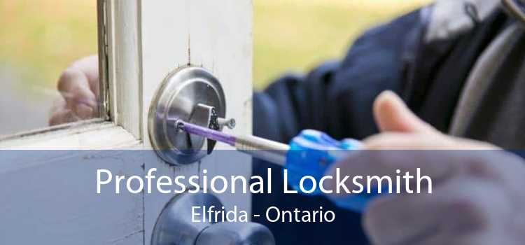 Professional Locksmith Elfrida - Ontario