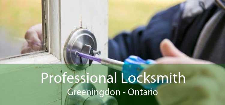 Professional Locksmith Greeningdon - Ontario